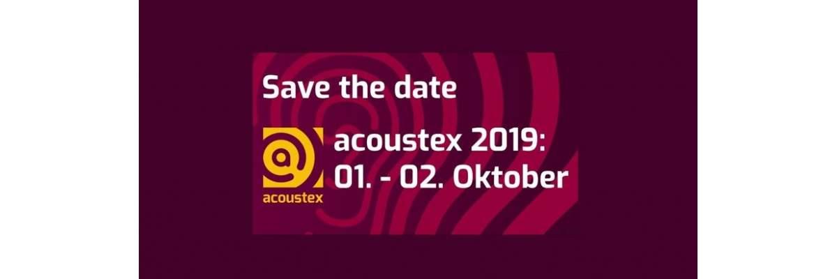 acoustex am 1 2 oktober 2019 in dortmund. Black Bedroom Furniture Sets. Home Design Ideas