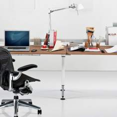 Schreibtisch Map Tablevitra Herman Miller, Sense Schreibtischsystem