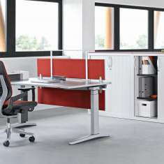 officebase, Steelcase, Akustik Tischblende c:scape screen