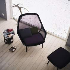 officebase, vitra, Slow Chair & Ottoman