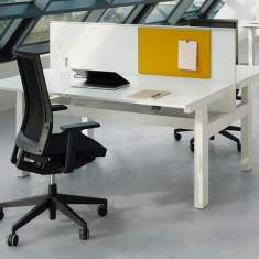 officebase, Bene, Lift Desk Twin