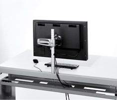 officebase, Herman Miller, wishbone, Wishbone Plus-Monitorarm